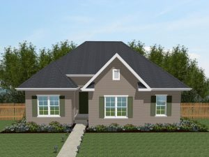 Homes with a rear garage
