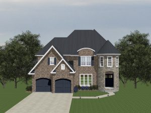Homes with a front garage